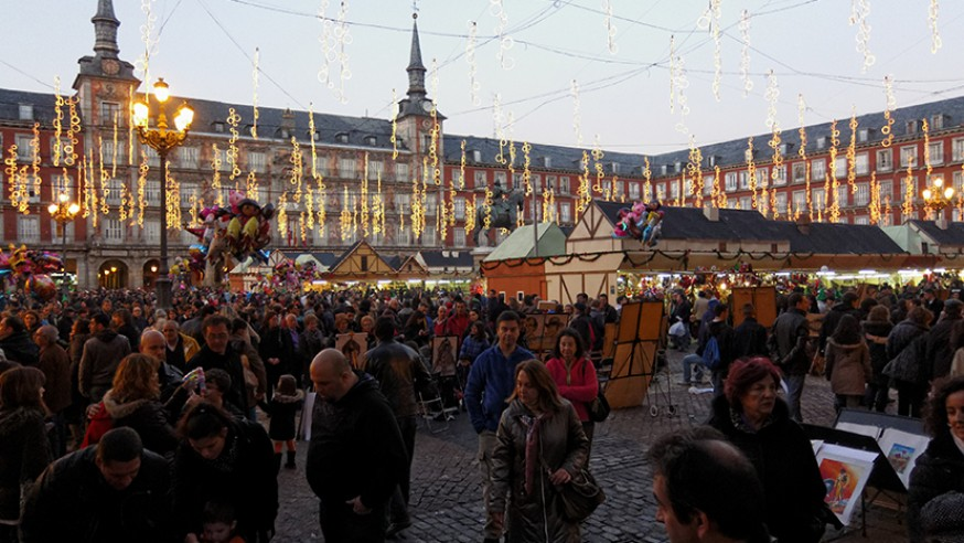 Los mejores mercados navide os de madrid blog gavir - Mercadillos madrid capital ...