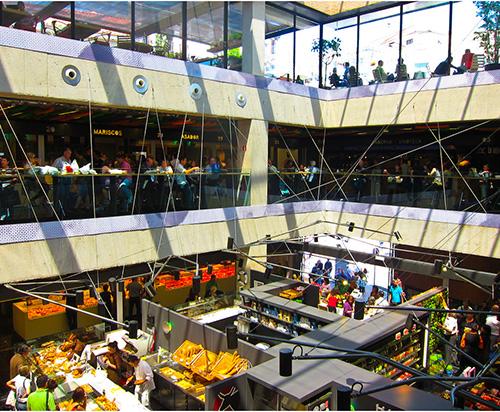 Mercado de San Antón de Madrid
