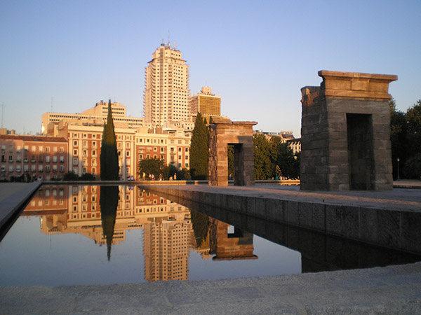 Templo de Debod en Madrid, Blog Gavirental