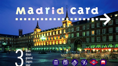 La tarjeta MadridCard indispensable para hacer turismo en Madrid