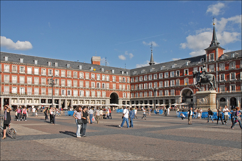 Plaza mayor de madrid, blog gavirental