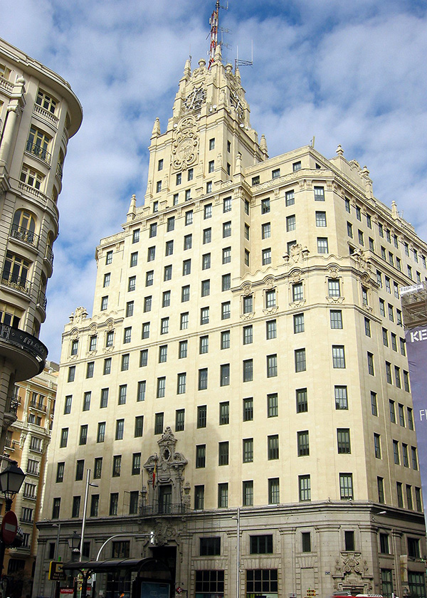 Edificio Telefónica, Blog Gavirental