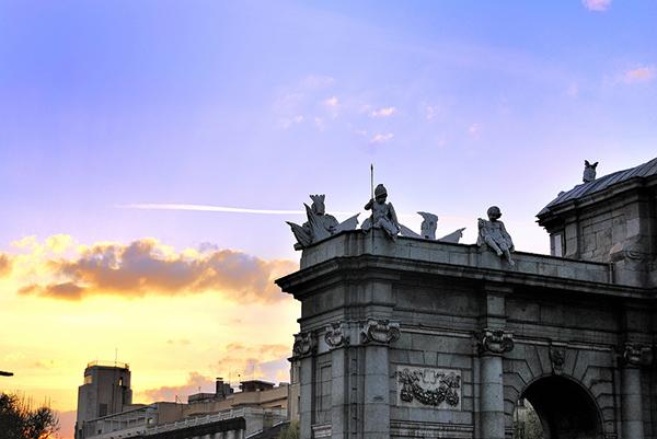 Atardecer en Puerta de Alcalá, Blog Gavirental