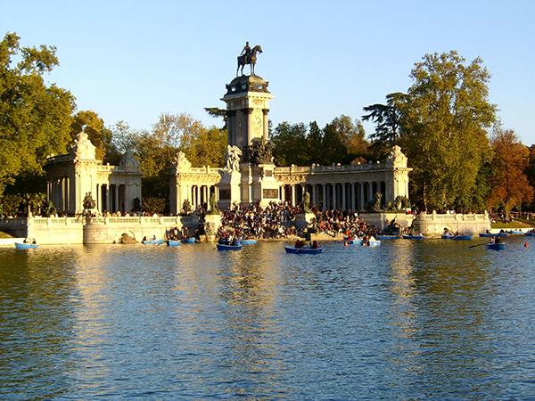 Lago del Parque del Retiro, Blog Gavirental