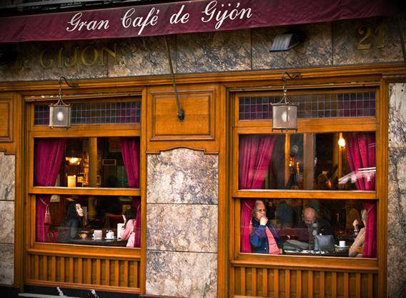 Café Gijón de Madrid, Blog Gavirental