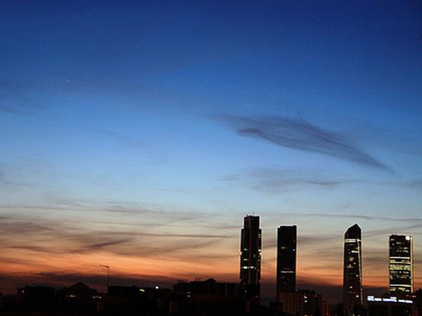 Puestas de sol de Madrid, blog Gavirental