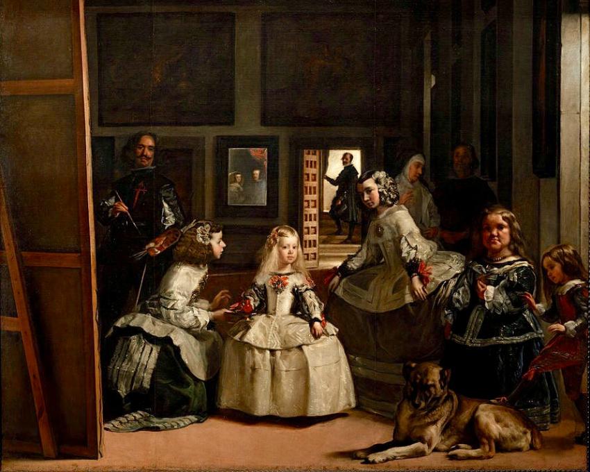 Cuadro de Las Meninas de Velázquez, blog gavirental