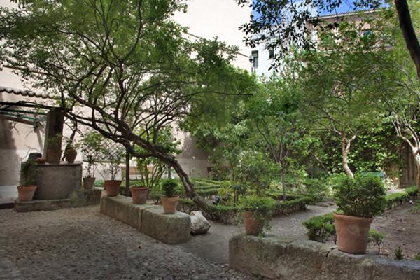 Jardín de la Casa  Lope de Vega