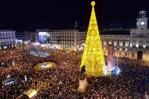 Celebra tambi n la pre nochevieja madrile a blog gavir for Puerta del sol uvas