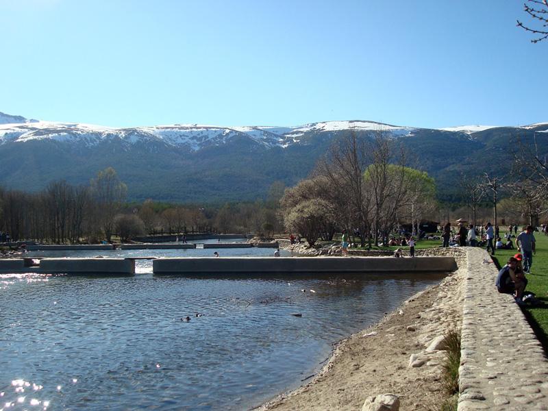 Piscinas naturales en Madrid, Las presillas de rascafría