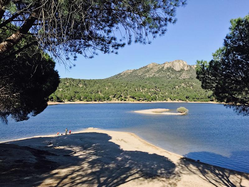 Piscinas naturales en Madrid, Pantano de san juan