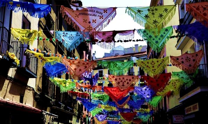 Fiestas agosto Madrid