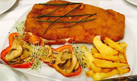 Cachopo en Madrid
