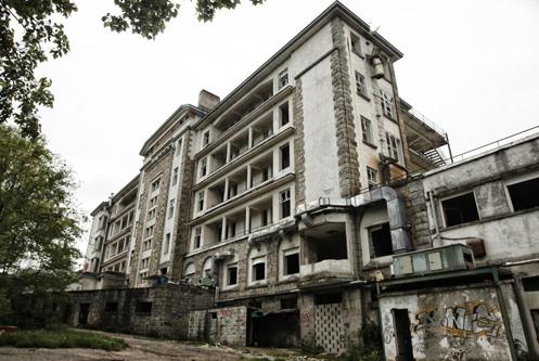 Lugares abandonados en Madrid