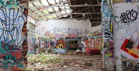 Sitios abandonados Madrid